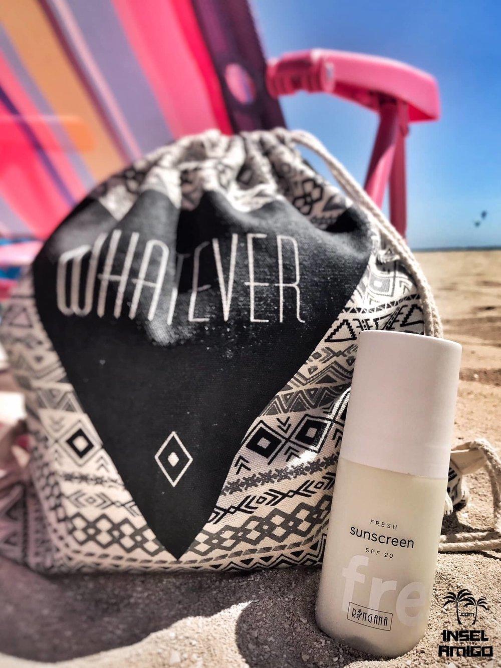 Natürlicher Sonnenschutz mit der RINGANA FRESH sunscreen - Foto by Inselamigo