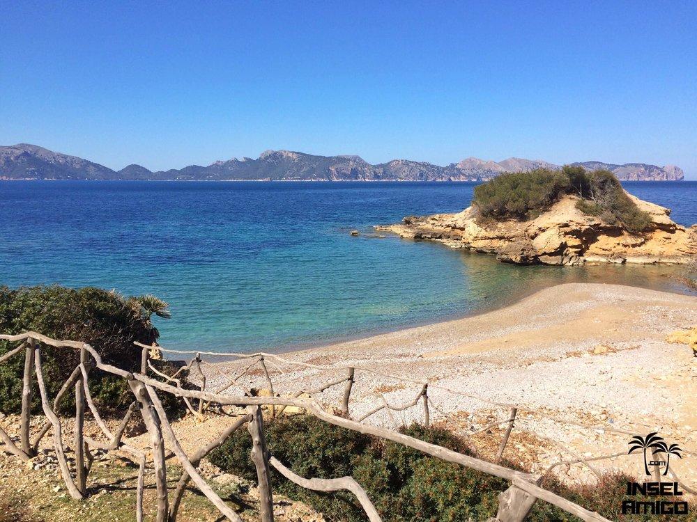 Der kleine Naturstrand S'Illot bei Alcudia