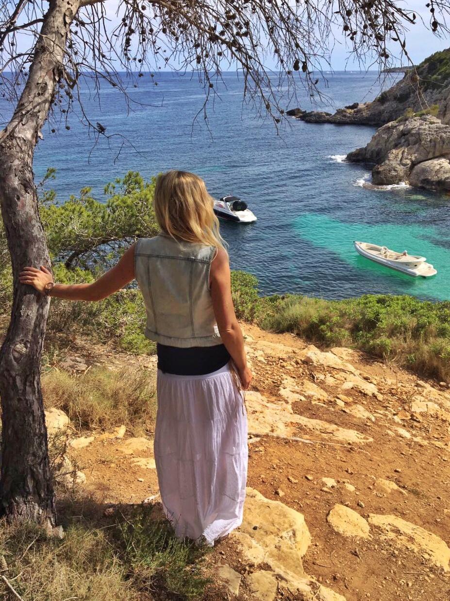 Der Blick auf die wunderschöne Bucht