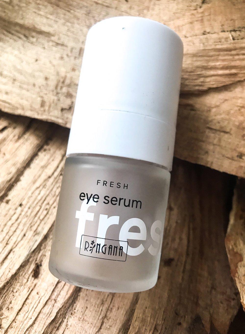 Das RINGANA FRESH eye serum - Foto by Inselamigo
