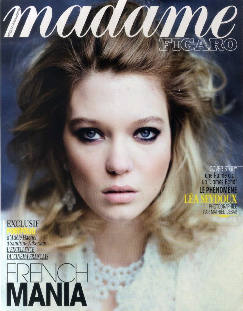 MADAME FIGARO 15 mai 2015 Cover