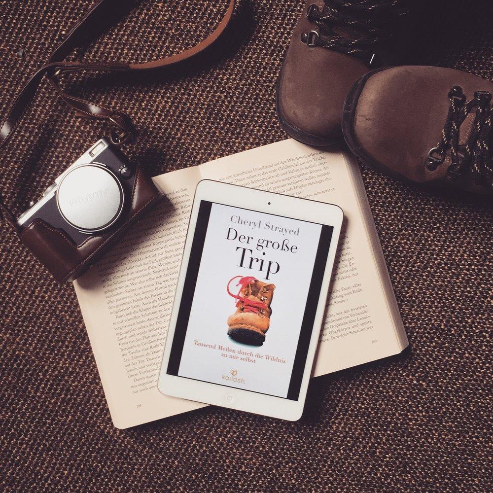 Cheryl Strayed – Der große Trip  Die bittere, aber auch wunderschöne und mächtige Geschichte einer verlorenen Frau auf ihrem schmerzhaften und steinigen Weg zur Selbstfindung und -heilung. Sehr interessante Autobiografie mit ein paar Längen.