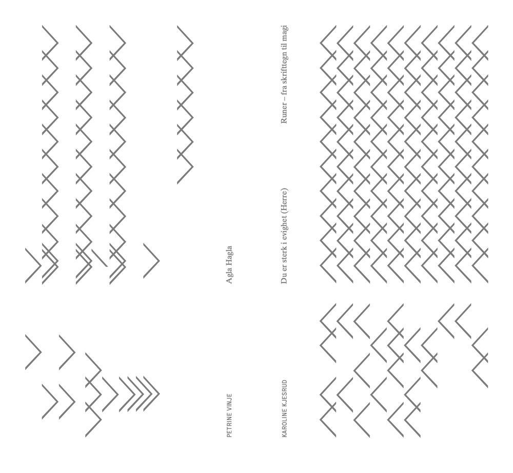 Cover artist book´k, design by Eller med a