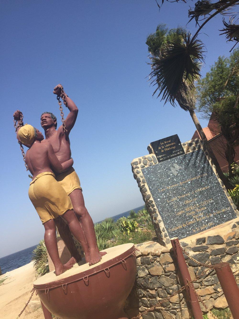 La Statue de la Libération de l'Esclavage