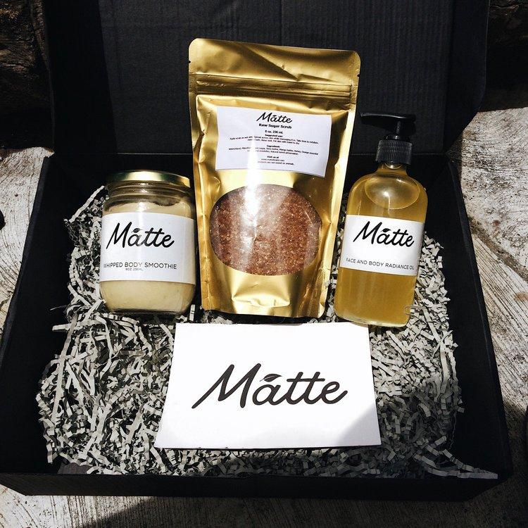 Matte Black Box - N15,000