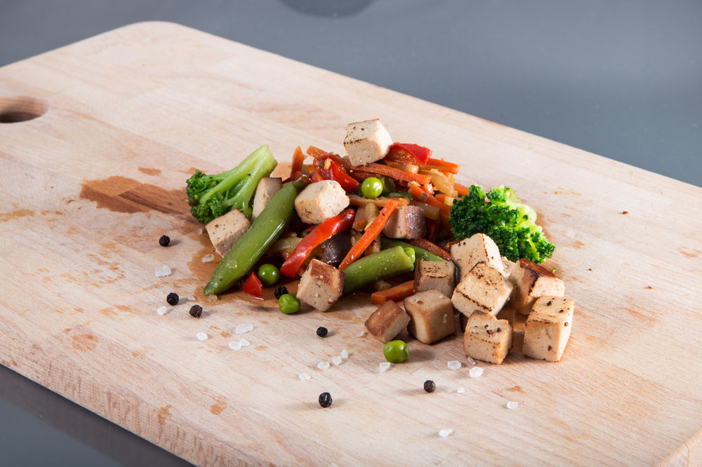 Asian Veggies and Tofu