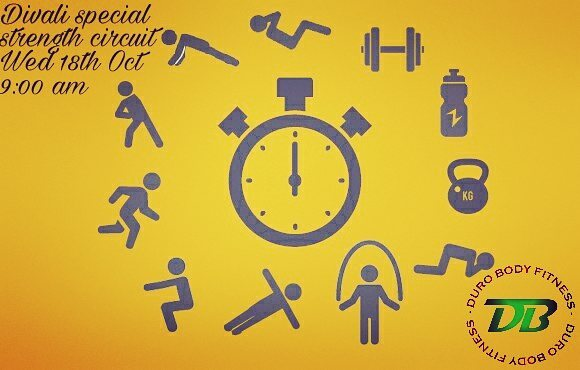 So before you go overboard enjoying your roti and curry on this awesome divali holiday, come participate in this super strength circuit!  And in an effort to continue our relief efforts for those Caribbean countries affected by hurricanes this year, we will be collecting food, water, items of clothing and anything else appropriate on this day to donate.  #durobodyfitness #powercorecircuit #donation #funfitness