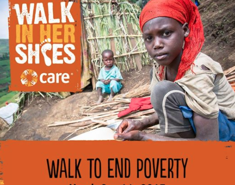 mudandskycollective was proud to have a team of walkers participate in CARE's 2017 Walk In Her Shoes: 7 days, 10,000 steps a day. Every day we grew more mindful of how these steps for us were a choice and a privilege, not at all what they are for the millions of women and girls living in poverty around the world. Thank you to all who donated and helped us exceed our fundraising goal! Join us for this special event again in 2018.