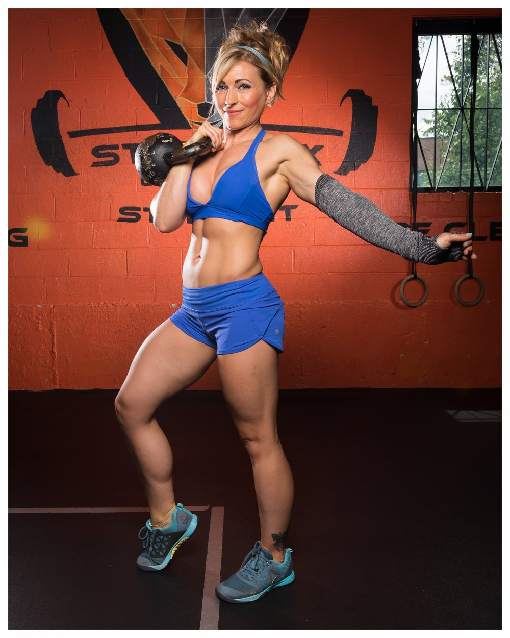 Steel Fox CrossFit Coach Rita