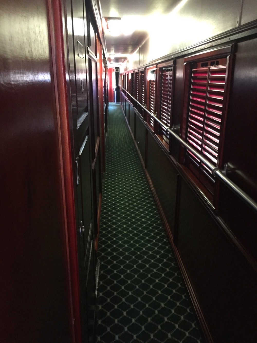 The paneling makes the old coaches reek of character.