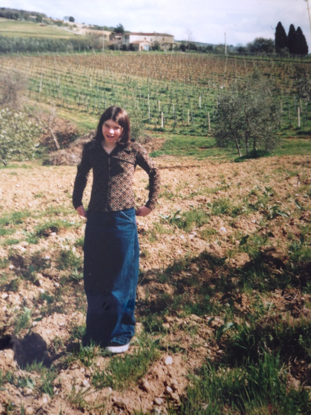little witch in Italy. look at these cool pants!