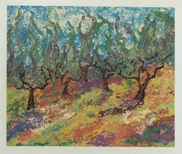"Orchard Dimensions: 21"" x 17"""