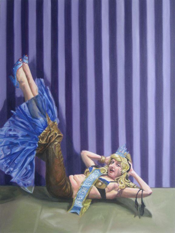 Miss Coney Island 2011: Purple