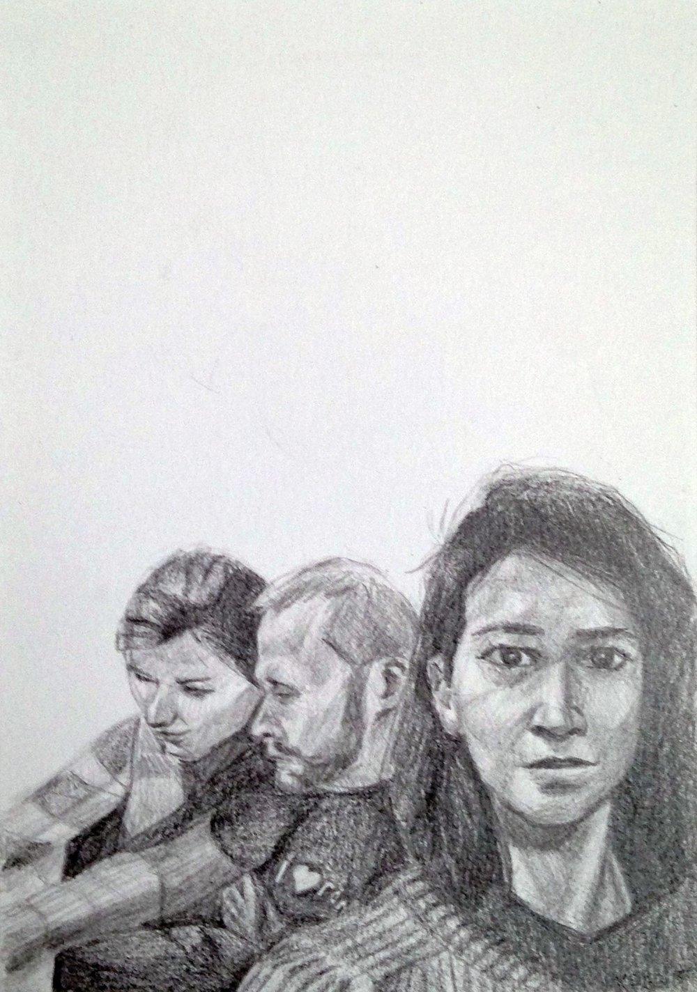 Ana, Mike, Sara