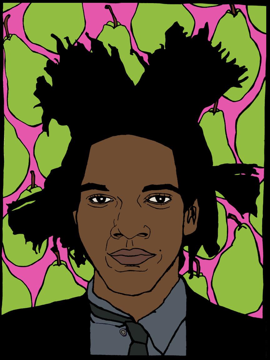 Basquiat + pears