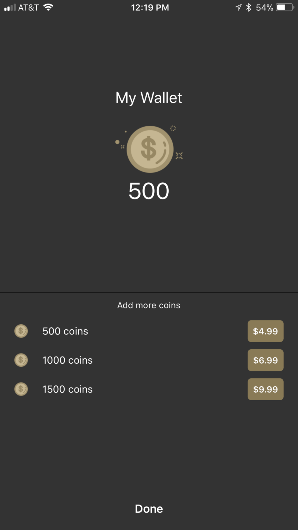 3. Your Relevnt Wallet - Earn or buy more coins and be able to create more Communities.