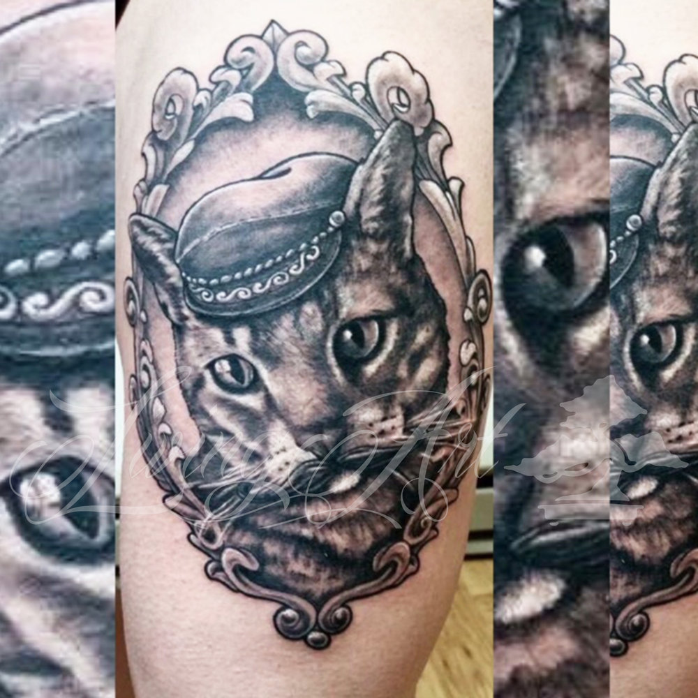 chris owen tattoo_ cat tattoo_kitty tattoo_black and grey cat tattoo.jpg