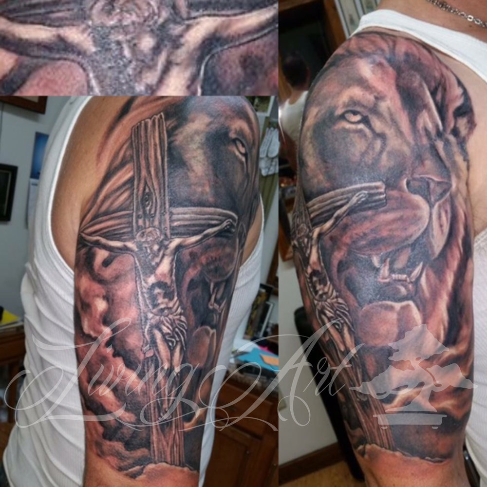 chris owen tattoo_christian tattoo_lion of judah tattoo_lion tattoo.jpg