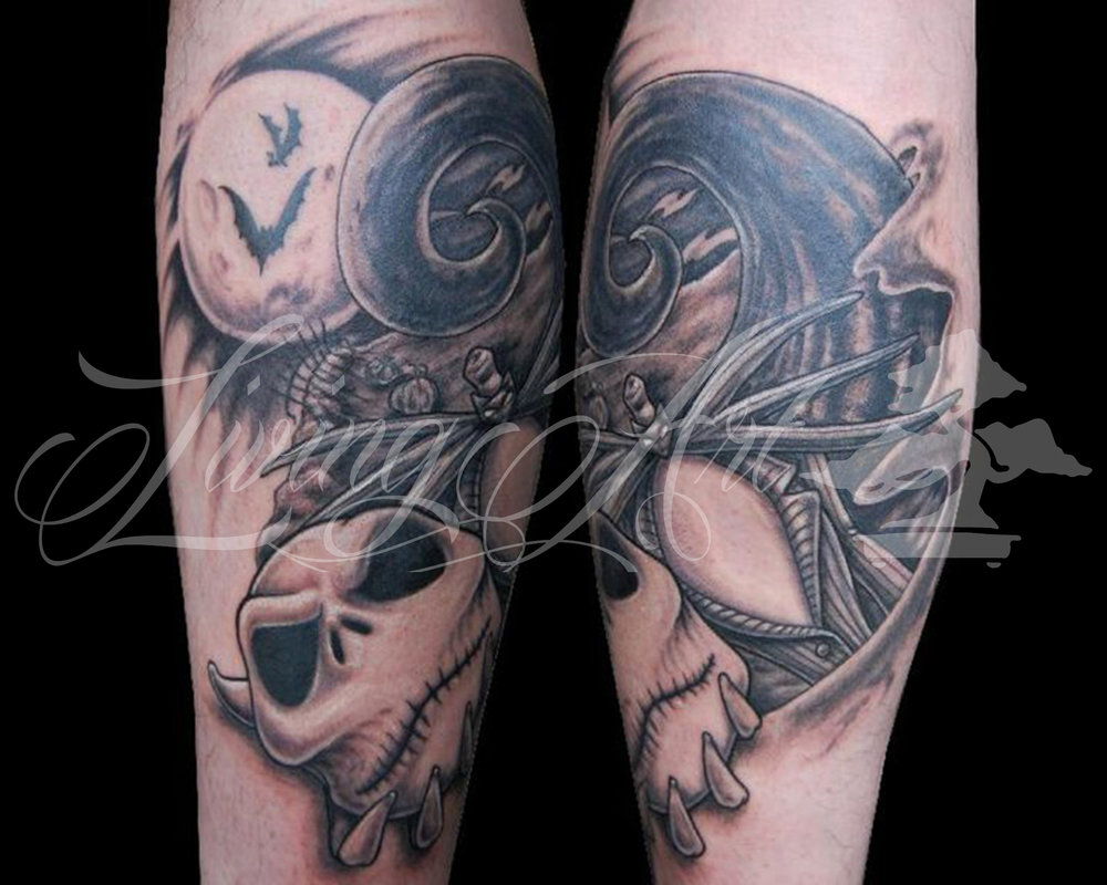 Chris Owen Tattoo_Nightmare before christmas tattoo_jack skelington tattoo.jpg