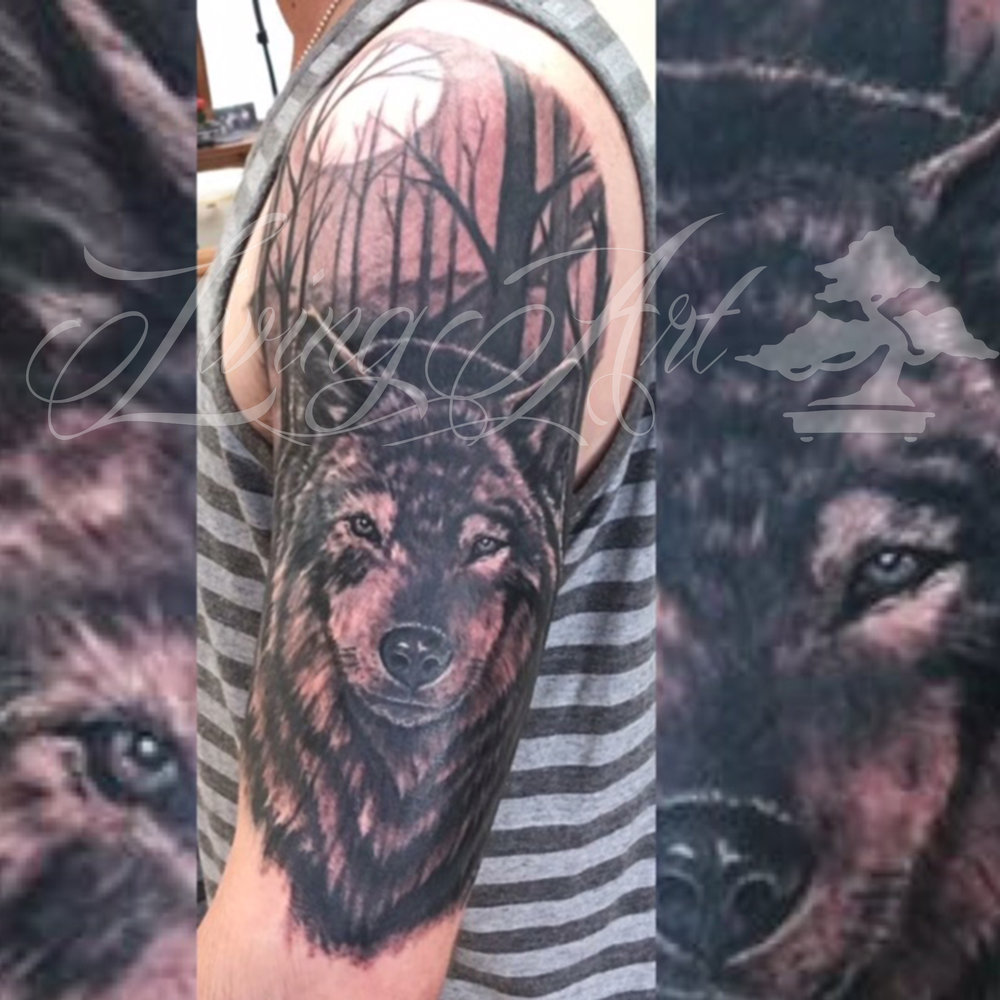 Chris Owen tattoo_wolf tattoo_wolf sleeve.jpg