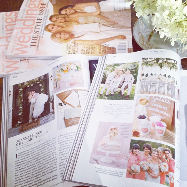Martha Stewart Weddings Magazine Issue : Fall 2104 Jose Villa Photography