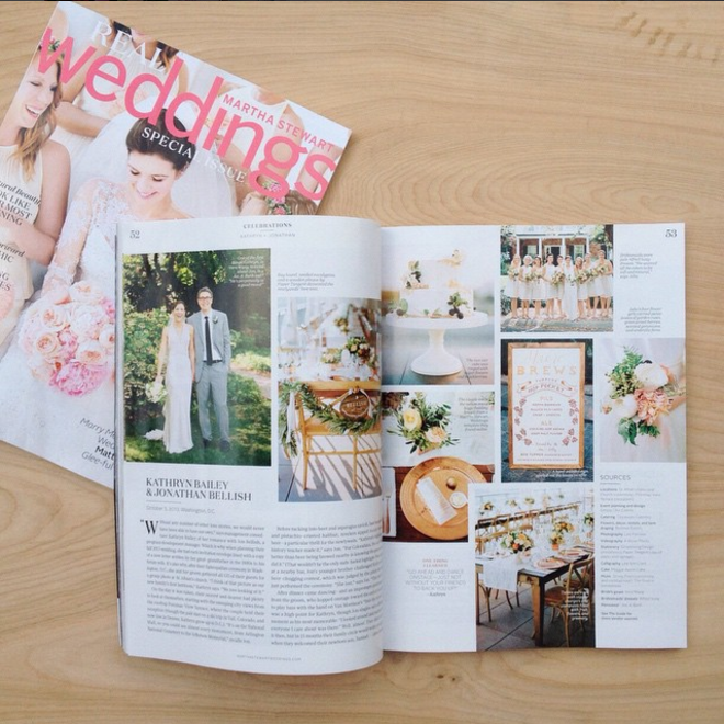 Martha Stewart Weddings Magazine Fall 2014
