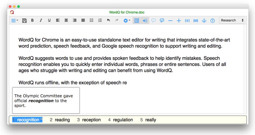 WordQ for Chrome screenshot.png