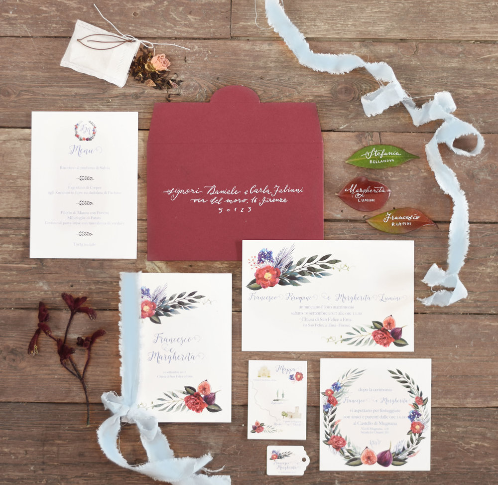 invitation hand painted ficus the Marthy's vintage garden.jpg