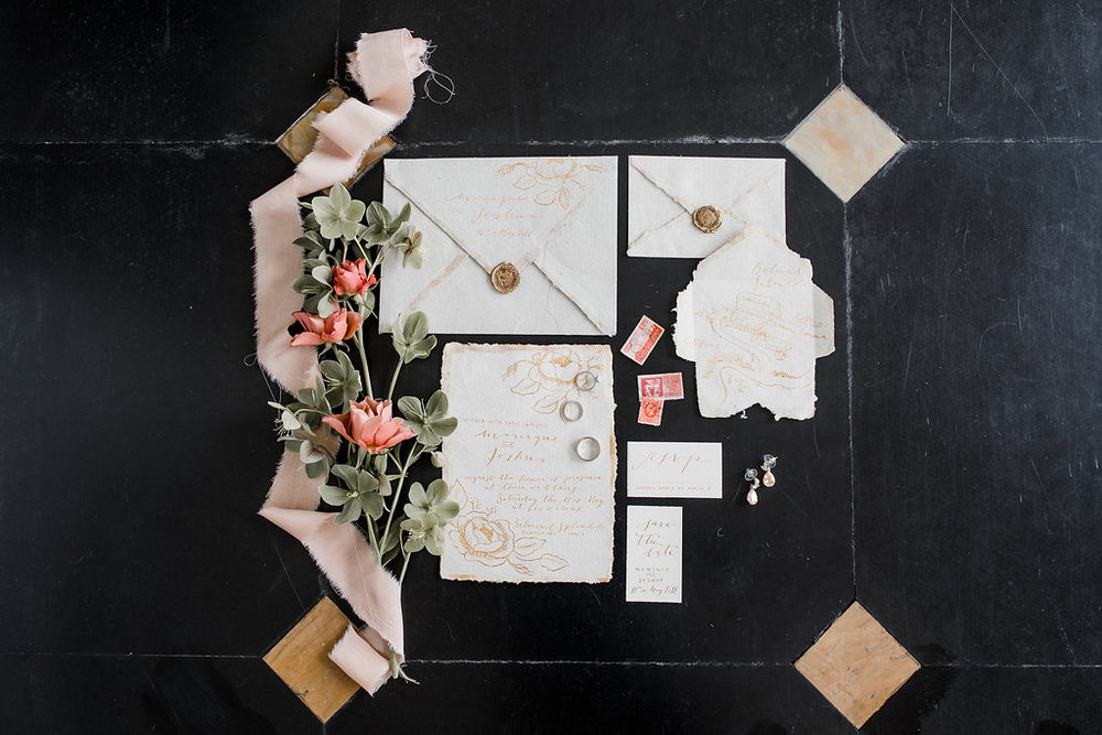 the Marthy's vintage garden wedding planner italy tuscany toscana portofino belmont splendido destination stationery handmade calligraphy.jpg