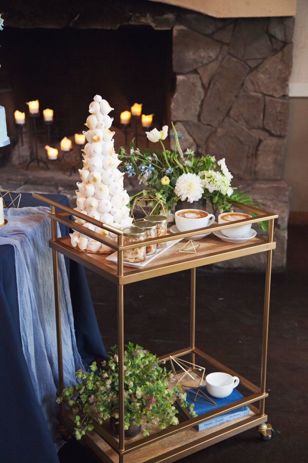 Wedding Espresso Cart by Espresso Elegance Catering