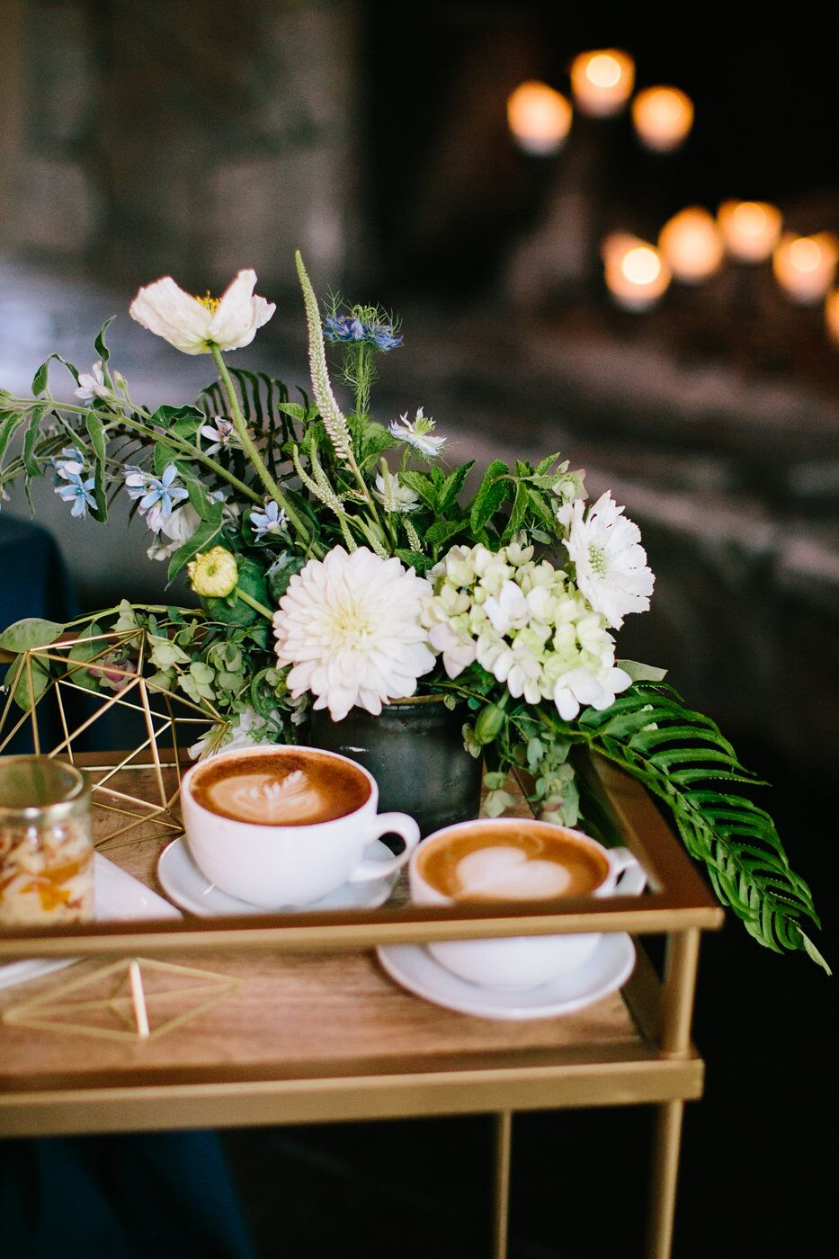 Espresso at a wedding by Espresso Elegance Catering