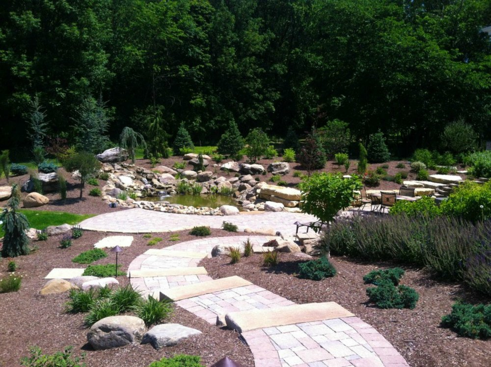 Paver Patio Hardscape Design