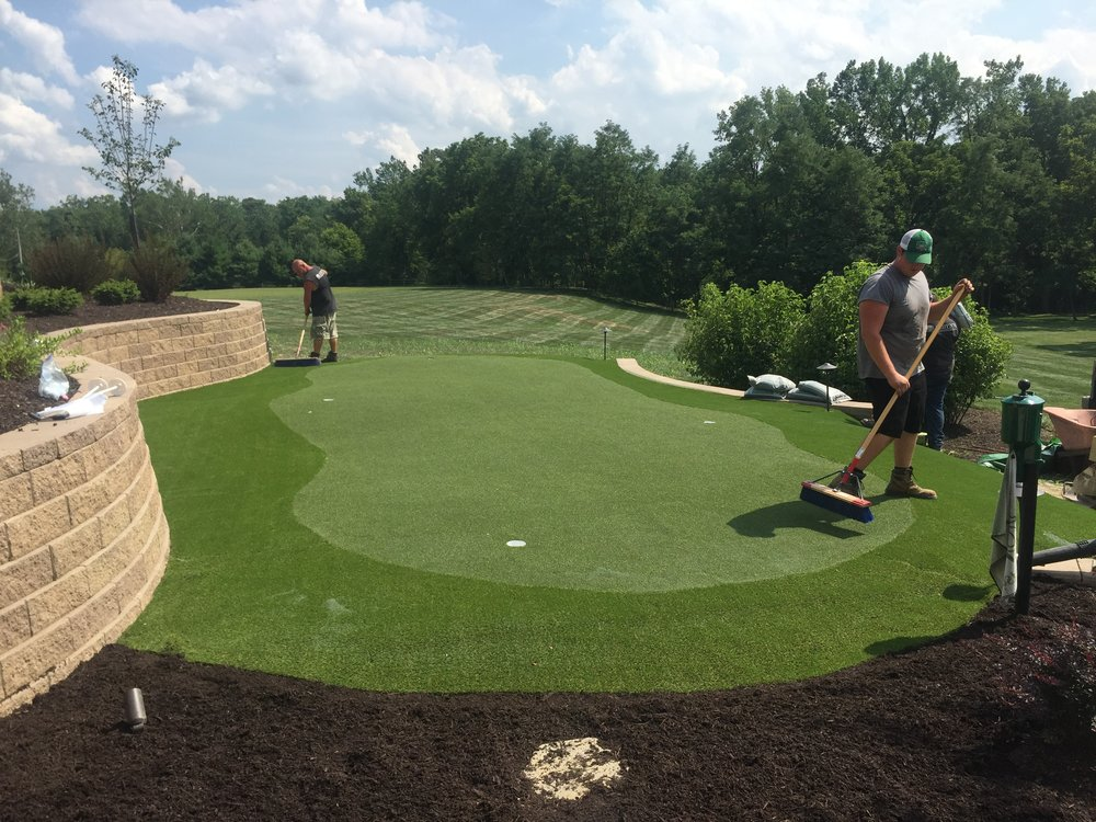 Putting Green Landscape Design