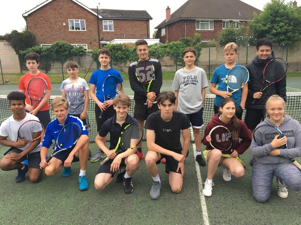 Yesterdays aspiring Tennis Leaders!