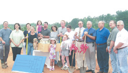 Groundbreaking was in May 2002 and construction began soon after.