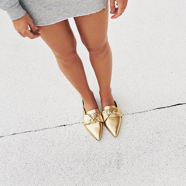 Stay golden 🌟| The HOLLY available now at @anthropologie
