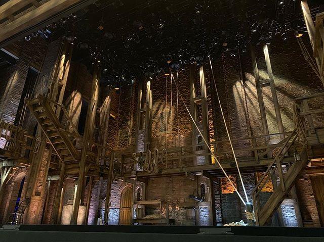 #Hamilton #hamiltonldn amazing seats for a remarkable show last night!