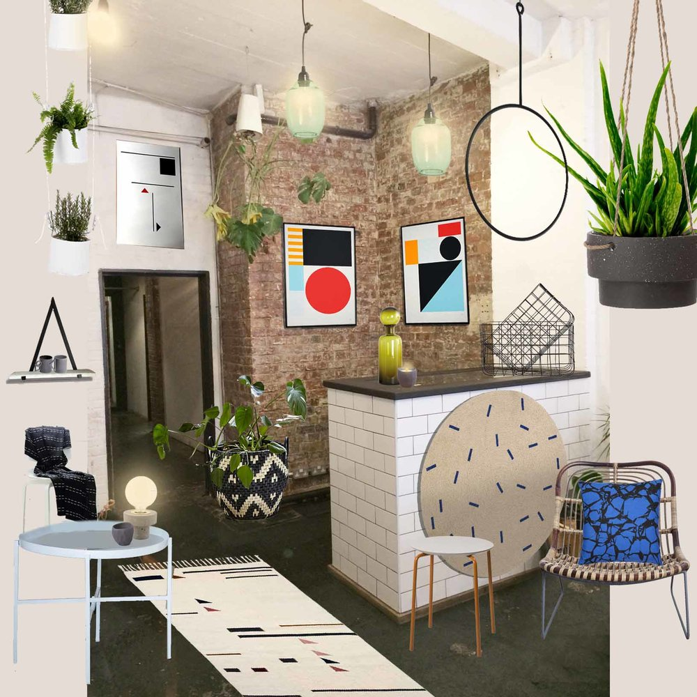 Shoreditch popup shop by An Artful Life studio