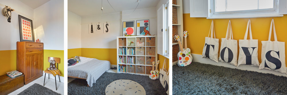 Mill End House Thaxted children's bedroom by An Artful Life studio