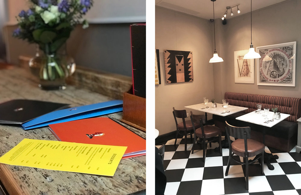 Zima restaurant design by An Artful Life studio