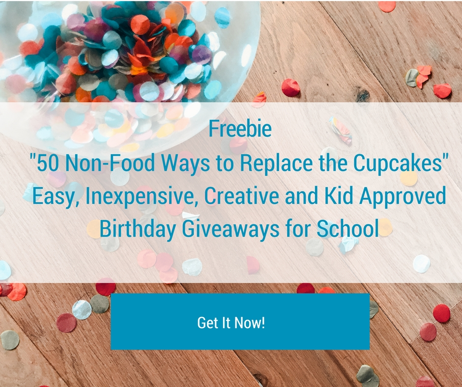 Non-food classroom birthday giveaway ideas