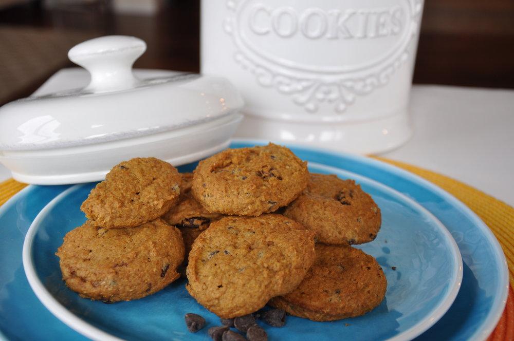 Peanut, Tree Nut, Egg & Dairy Free Pumpkin Spice Cookies