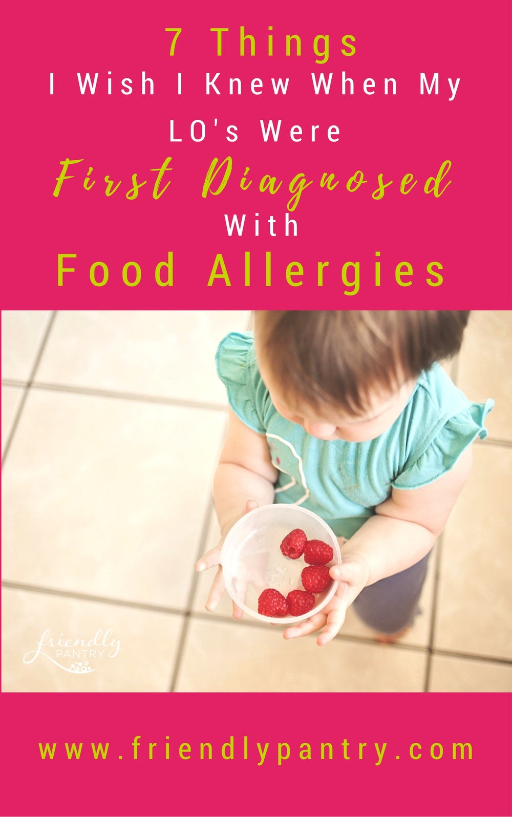 Newly Diagnosed With Food Allergies