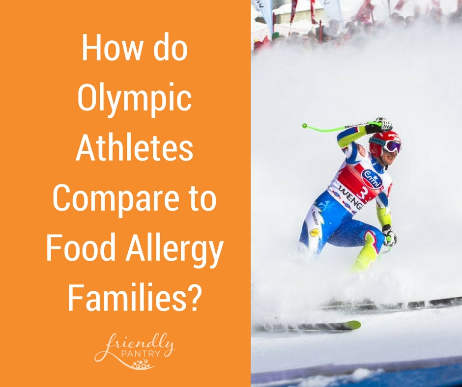 Olympics Athletes and Food Allergies