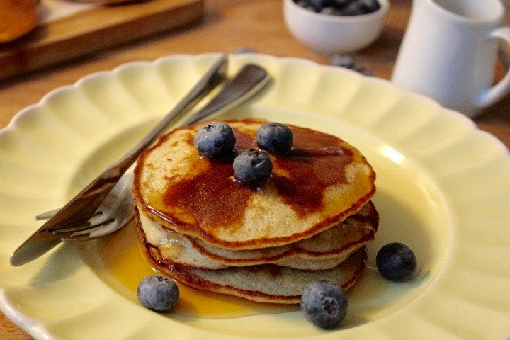 Wheat free pancakes