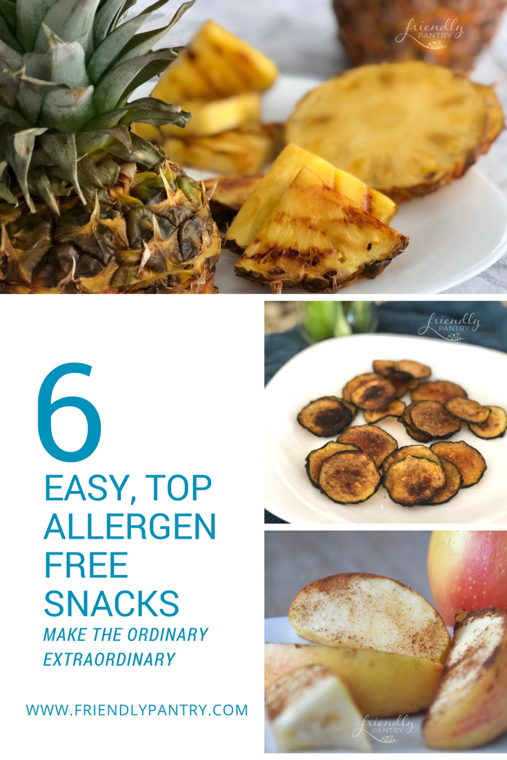 Easy allergy eats for kids.