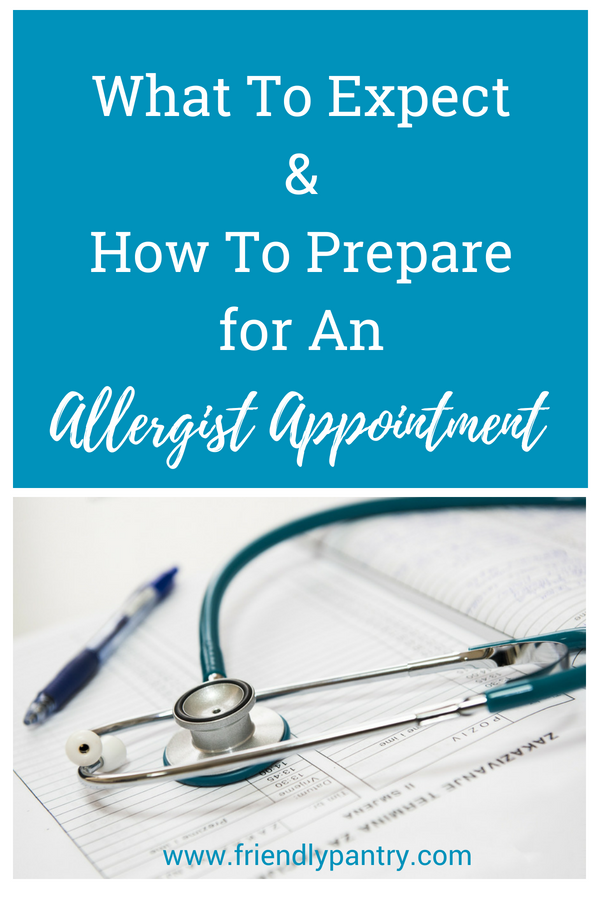 What to expect at your first allergist appointment