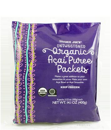 Trader Joes Organic Acai Puree Packets