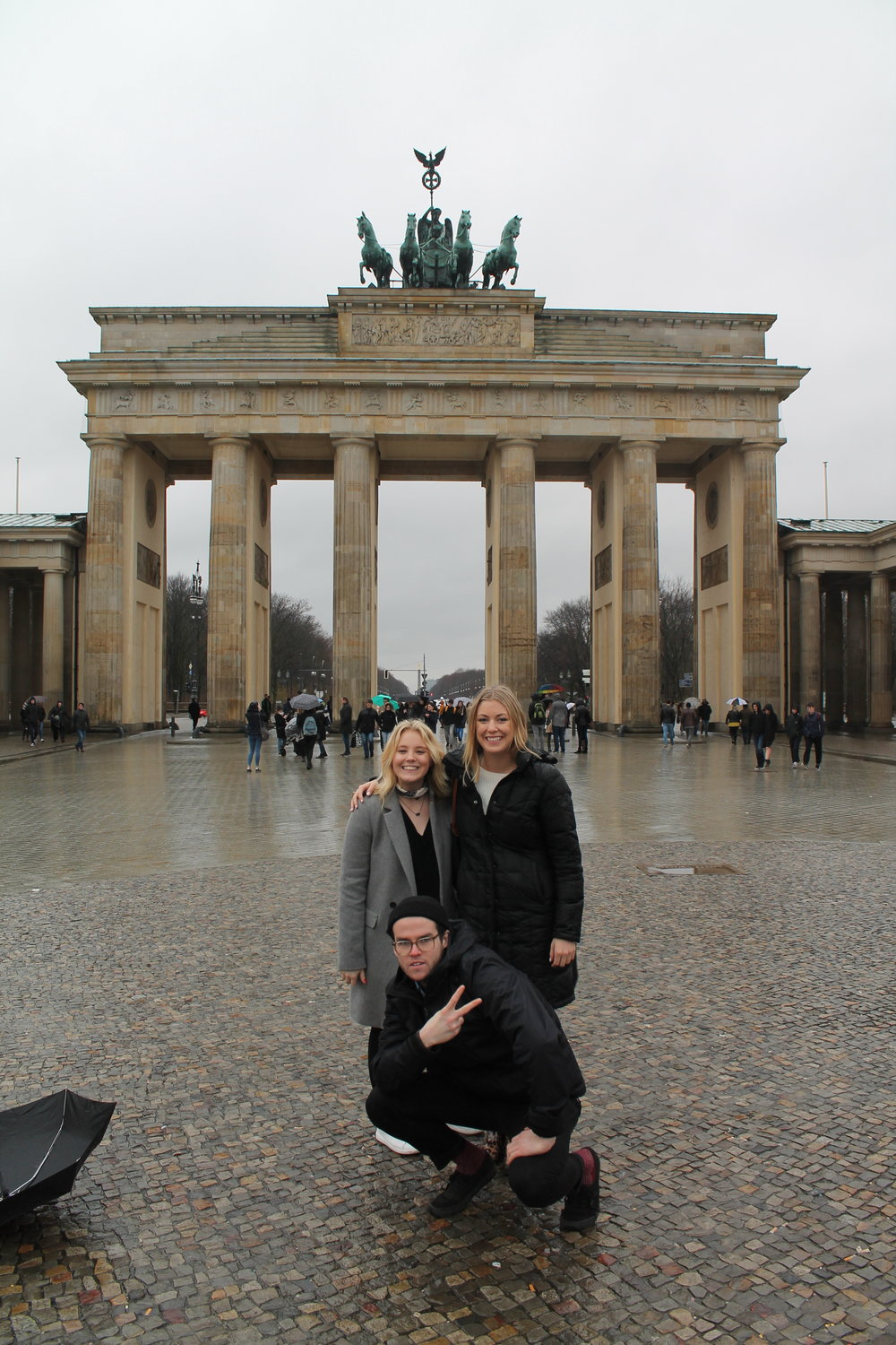 The three cousins in Berlin!