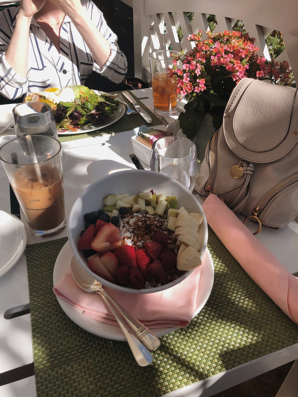 Cabana Cafe at The Beverly Hills Hotel